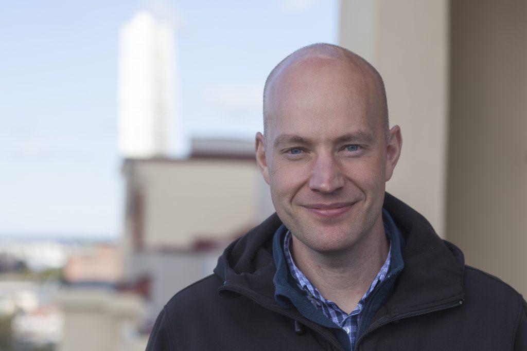 Marcus Johansson, HSB Sundsfastigheter, har lett det genomgripande arbetet med att restaurera Peterstorp.