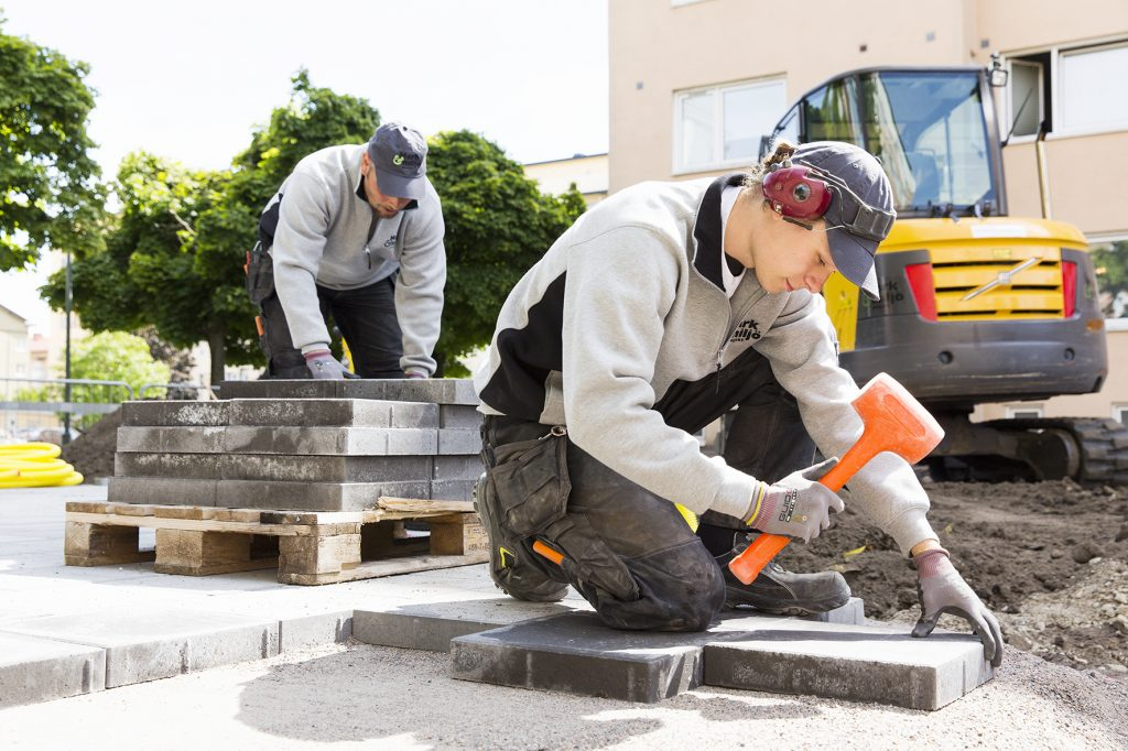 betongplattor