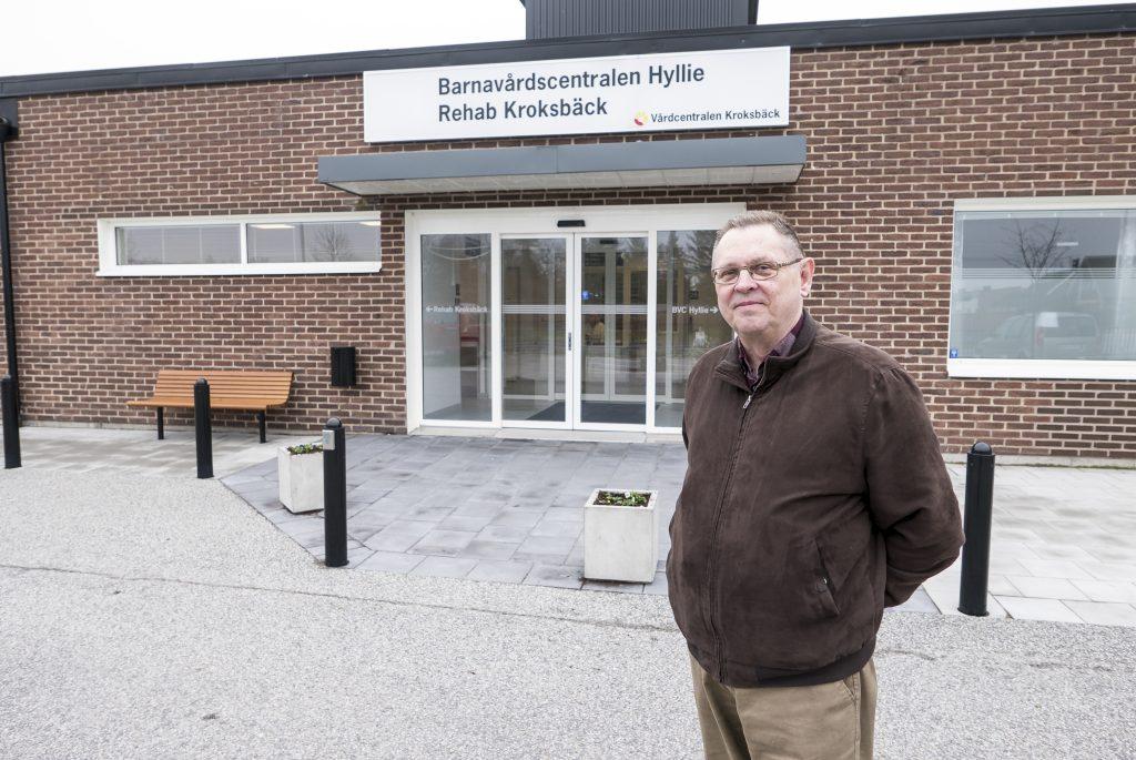 Jan Gasslander är glad över det nya avtalet med Region Skåne. Hyresavtalet löper över tio år och ger ett välkommet tillskott till föreningskassan.